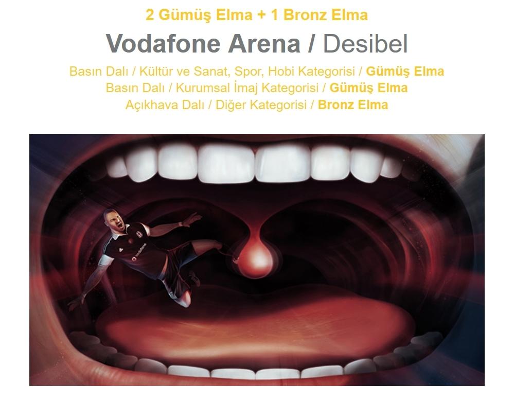 Vodafone Arena'ya 17 ödül 4