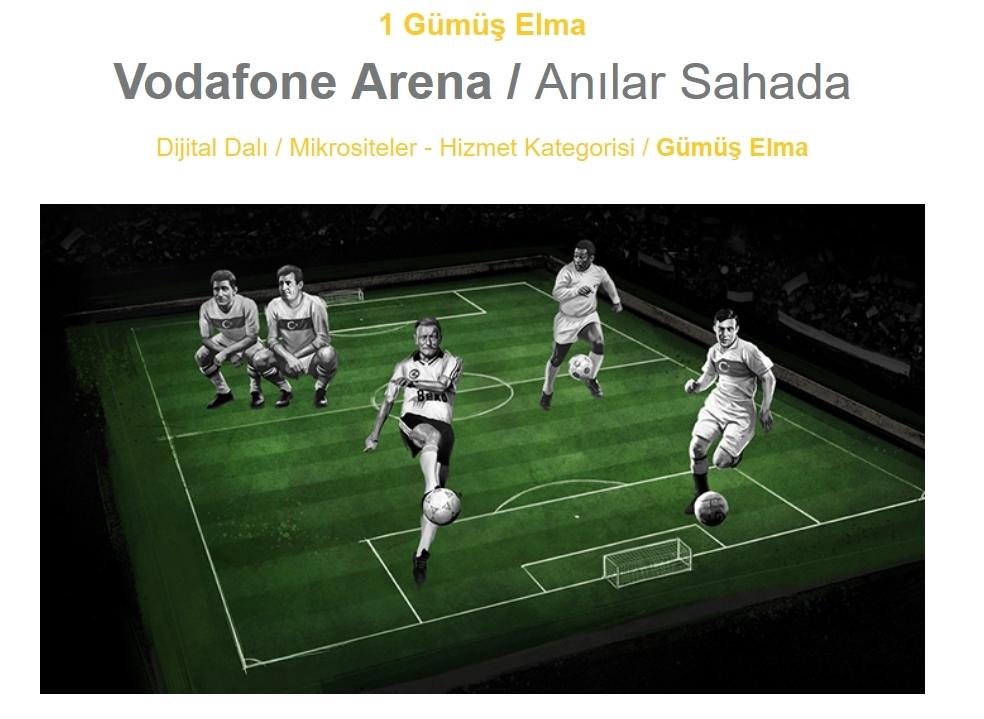 Vodafone Arena'ya 17 ödül 5