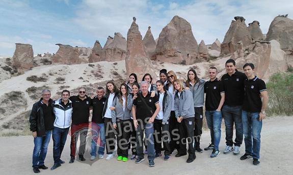Kadın basketbol takımının Kapadokya turu 1