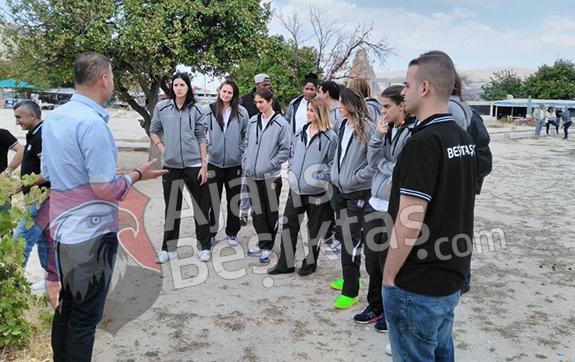 Kadın basketbol takımının Kapadokya turu 2