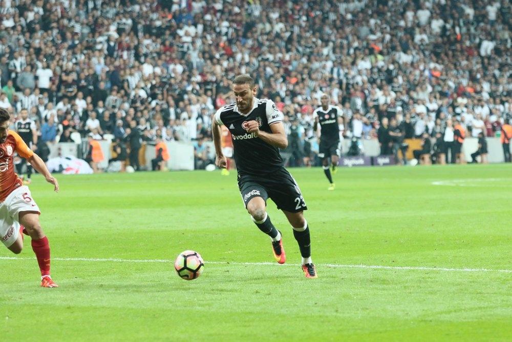 Beşiktaş-Galatasaray derbisinden kareler 11
