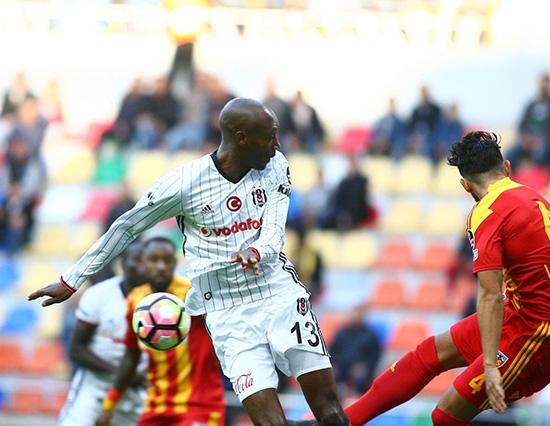 Kayserispor-Beşiktaş maçından kareler 11
