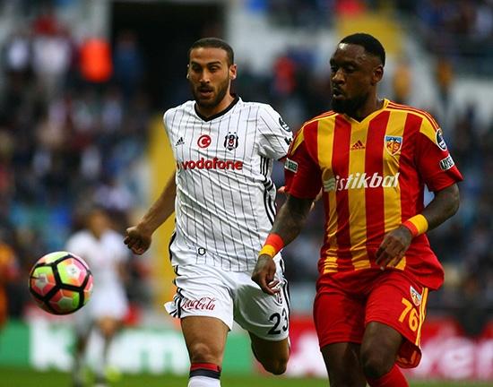 Kayserispor-Beşiktaş maçından kareler 12