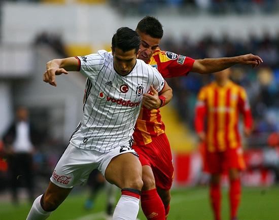 Kayserispor-Beşiktaş maçından kareler 15