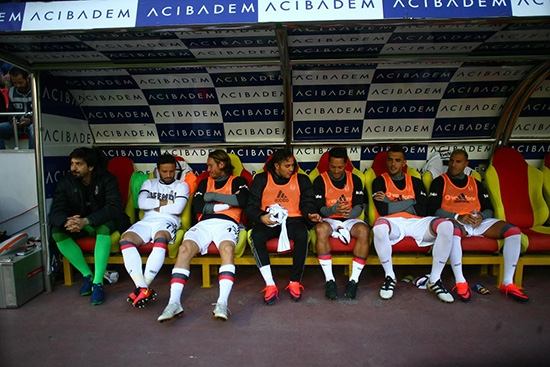 Kayserispor-Beşiktaş maçından kareler 20