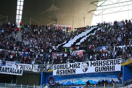 Kayserispor-Beşiktaş maçından kareler 21
