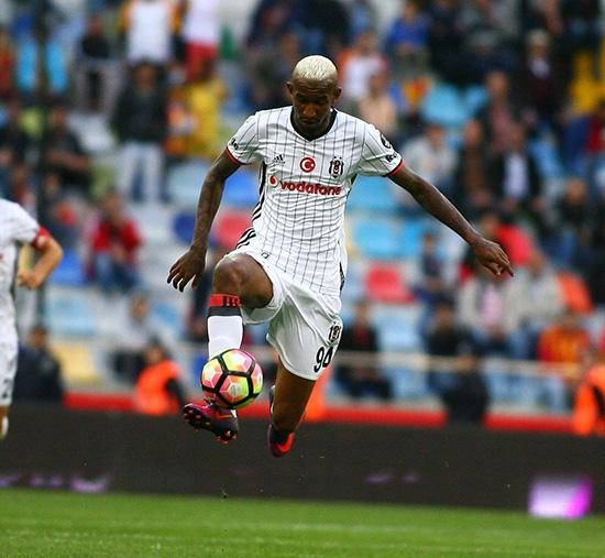 Kayserispor-Beşiktaş maçından kareler 22