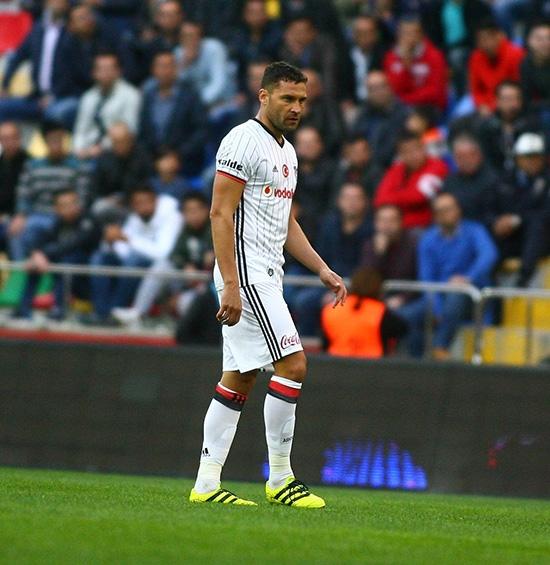 Kayserispor-Beşiktaş maçından kareler 23