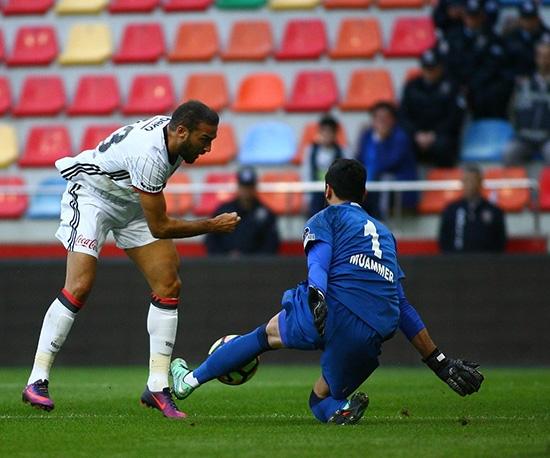 Kayserispor-Beşiktaş maçından kareler 4