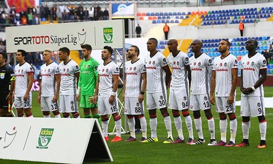 Kayserispor-Beşiktaş maçından kareler 5
