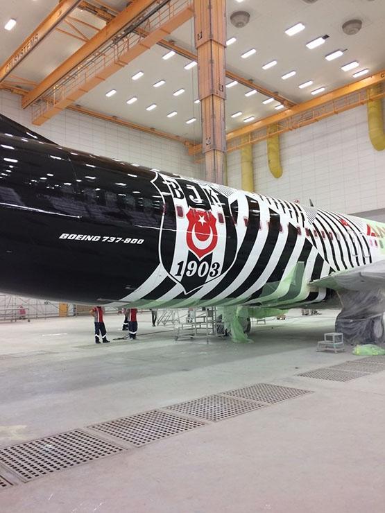 İşte Beşiktaş'ın yeni uçağı 1