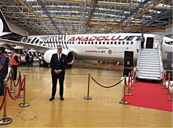 İşte Beşiktaş'ın yeni uçağı 2