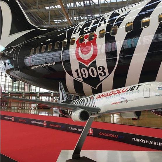İşte Beşiktaş'ın yeni uçağı 3