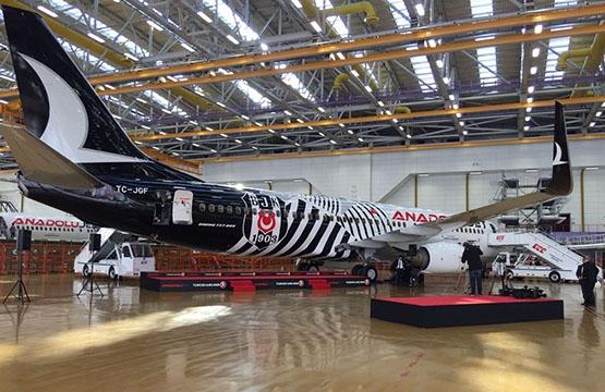 İşte Beşiktaş'ın yeni uçağı 5