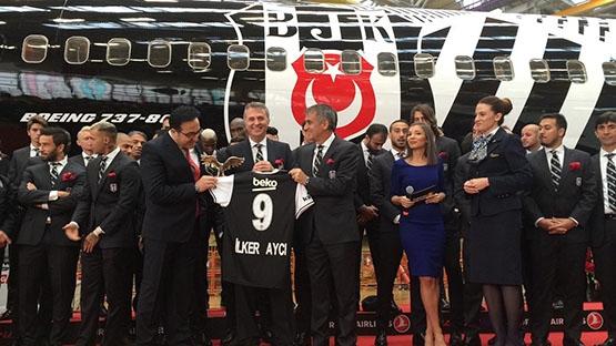 İşte Beşiktaş'ın yeni uçağı 7