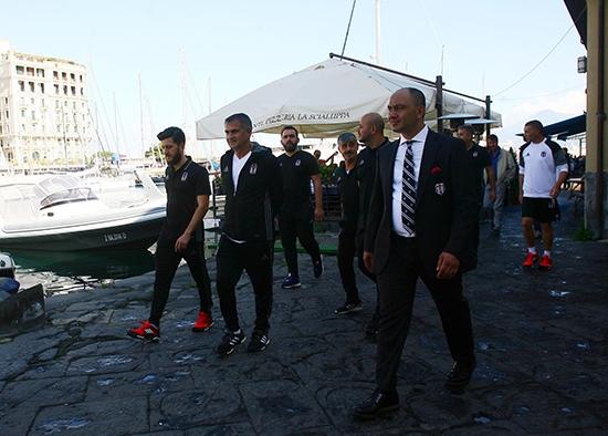 Beşiktaş'ın Napoli gezisi 1