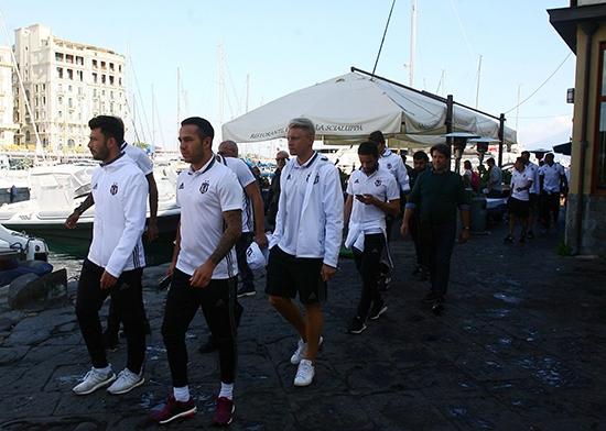 Beşiktaş'ın Napoli gezisi 3