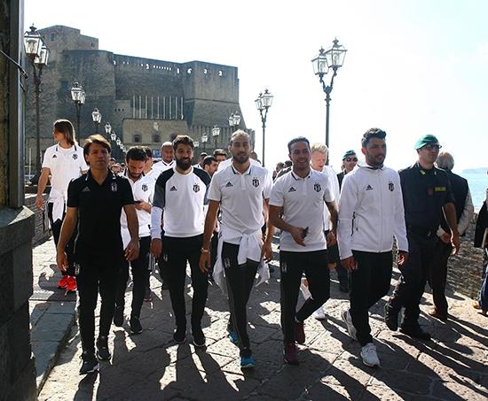 Beşiktaş'ın Napoli gezisi 4