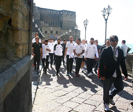 Beşiktaş'ın Napoli gezisi 7