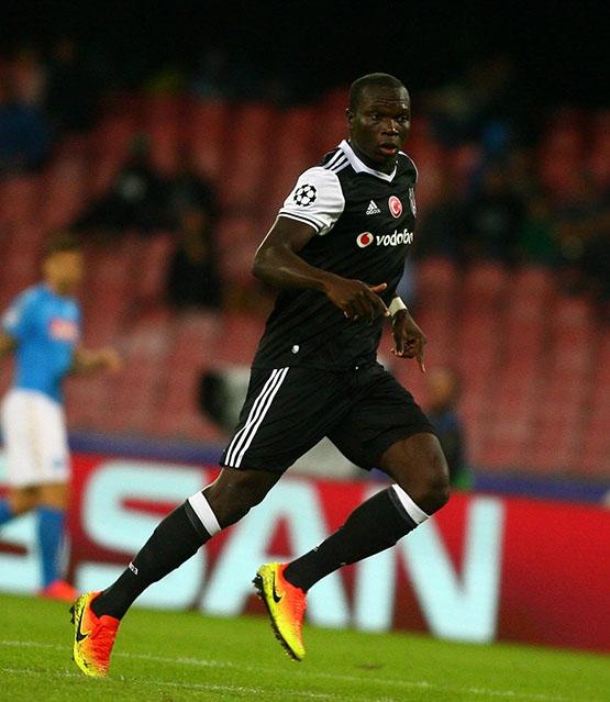 Napoli-Beşiktaş maçından kareler 10