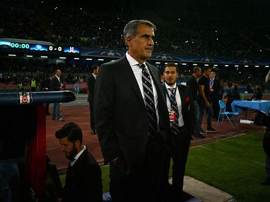 Napoli-Beşiktaş maçından kareler 12