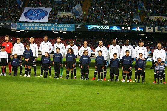 Napoli-Beşiktaş maçından kareler 19