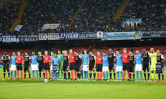 Napoli-Beşiktaş maçından kareler 27