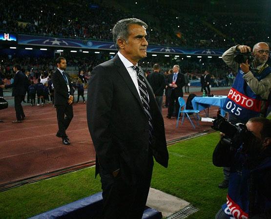 Napoli-Beşiktaş maçından kareler 30