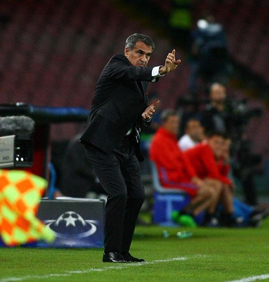 Napoli-Beşiktaş maçından kareler 4