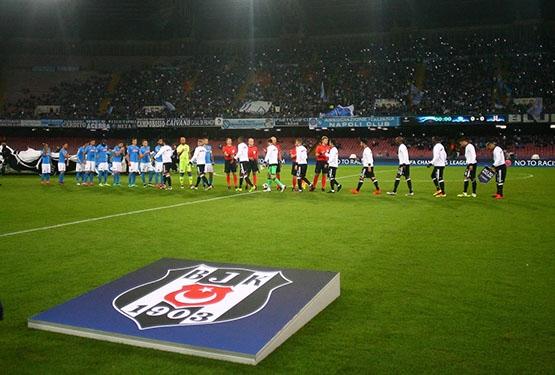Napoli-Beşiktaş maçından kareler 5