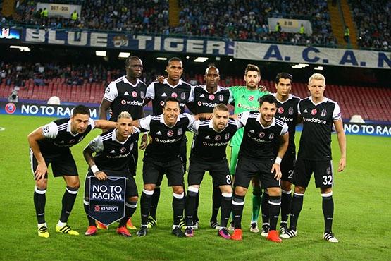 Napoli-Beşiktaş maçından kareler 7