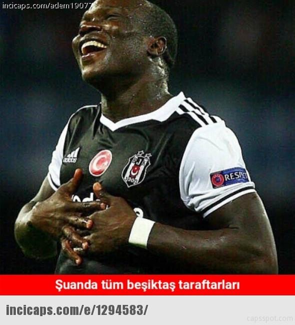 Beşiktaş kazandı caps'ler güldürdü 1