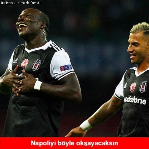 Beşiktaş kazandı caps'ler güldürdü 12
