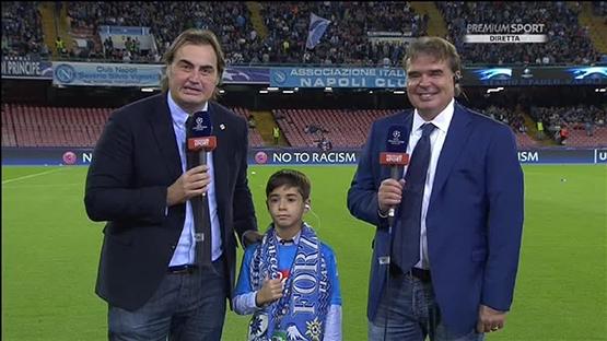 Napoli küçük çocuğu ağlamaya mahkum etti! 3