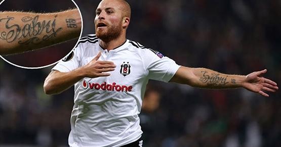 Beşiktaş'ın dövmeli oyuncuları 10