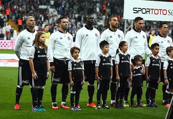 Beşiktaş - Antalyaspor maçından kareler 12