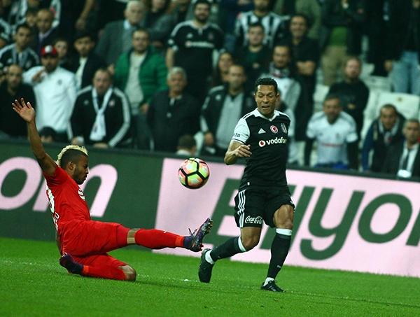 Beşiktaş - Antalyaspor maçından kareler 14