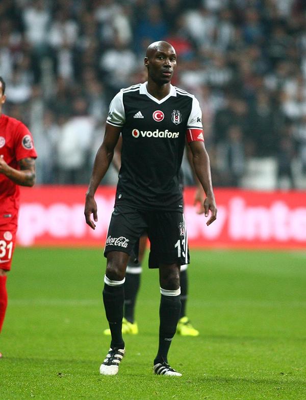 Beşiktaş - Antalyaspor maçından kareler 15