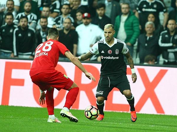 Beşiktaş - Antalyaspor maçından kareler 18