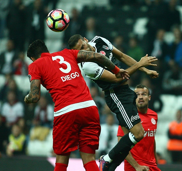 Beşiktaş - Antalyaspor maçından kareler 2
