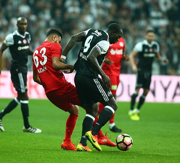 Beşiktaş - Antalyaspor maçından kareler 24