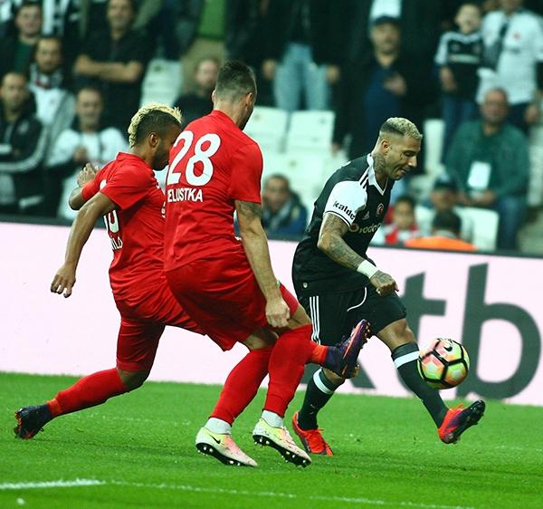 Beşiktaş - Antalyaspor maçından kareler 25