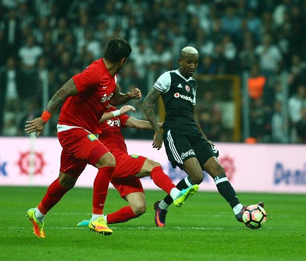 Beşiktaş - Antalyaspor maçından kareler 28