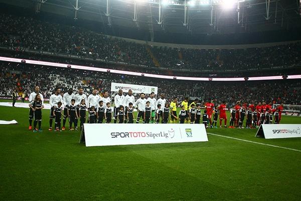 Beşiktaş - Antalyaspor maçından kareler 4