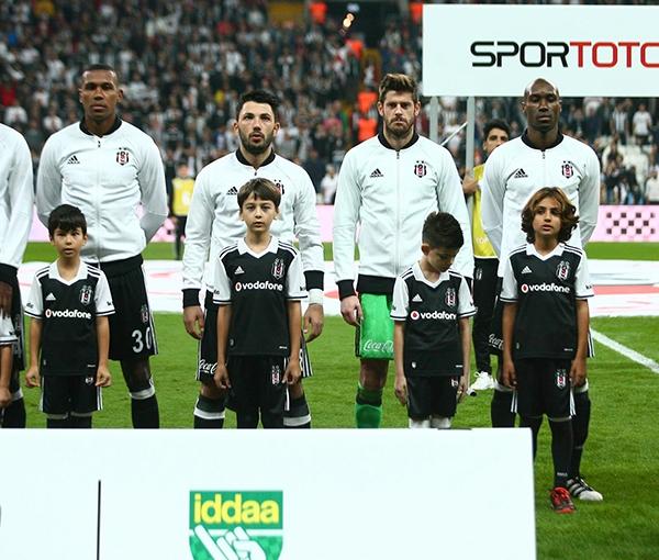 Beşiktaş - Antalyaspor maçından kareler 5