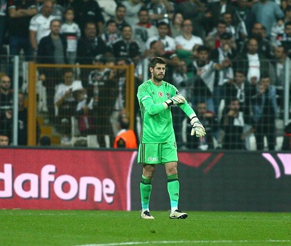 Beşiktaş - Antalyaspor maçından kareler 6