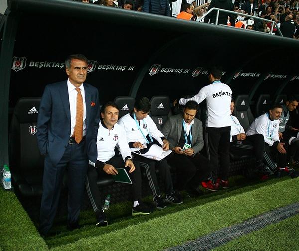Beşiktaş - Antalyaspor maçından kareler 7
