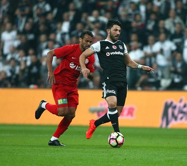 Beşiktaş - Antalyaspor maçından kareler 9