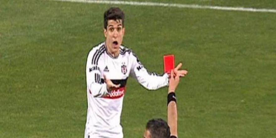 Son 7 sezonda Beşiktaş'ta en fazla kırmızı kart gören isimler!