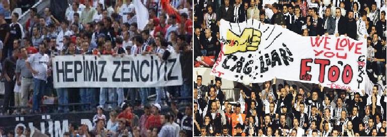 Beşiktaş tribünlerinin futbol dışı pankartları 1 9